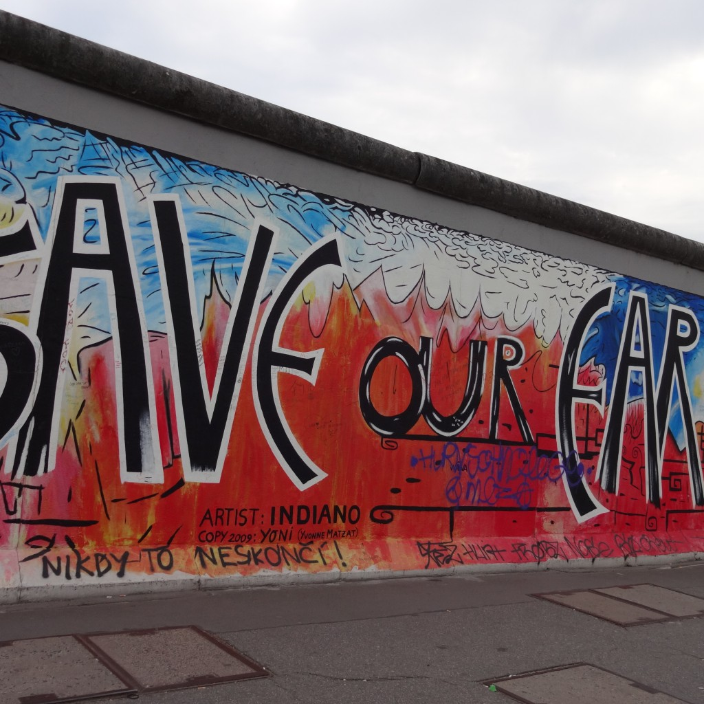 Berlin-Wall-Save-Our-Earth